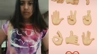 Video de tik tok de manos
