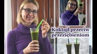 Zielony koktajl na przeziębienia // zdrowe odżywianie/ kierunek zdrowie