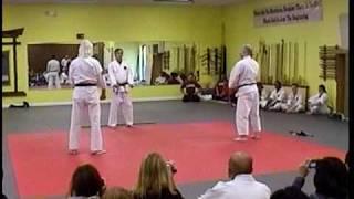 Cuong Nhu John DiPietro Godan self defense demo