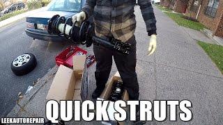 Quick Strut Complete Strut Assemb Monroe Quick Struts — VACA
