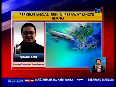Collaborating with Malaysian State TV RTM during the hunt for MH370