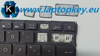 ASUS LAPTOP KEYBOARD REPAIR GUIDE Zenbook UX430 UX410U UX410 UX331 UX580 How to Install Fix Keys DIY
