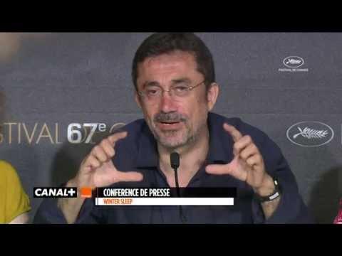 Cannes 2014 - SOMMEIL D'HIVER : Conférence de Presse