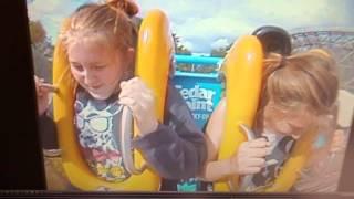 Slingshot girl poops on ride at cedar point