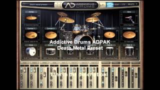 Addictive Drums Death Metal preset (Download in the description)