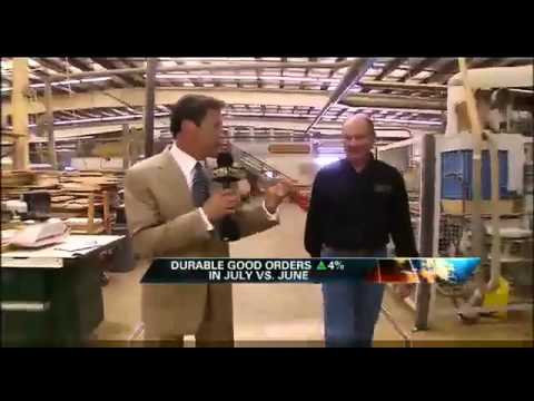 Baker Road Furniture   Made In USA   Fox Business News Video