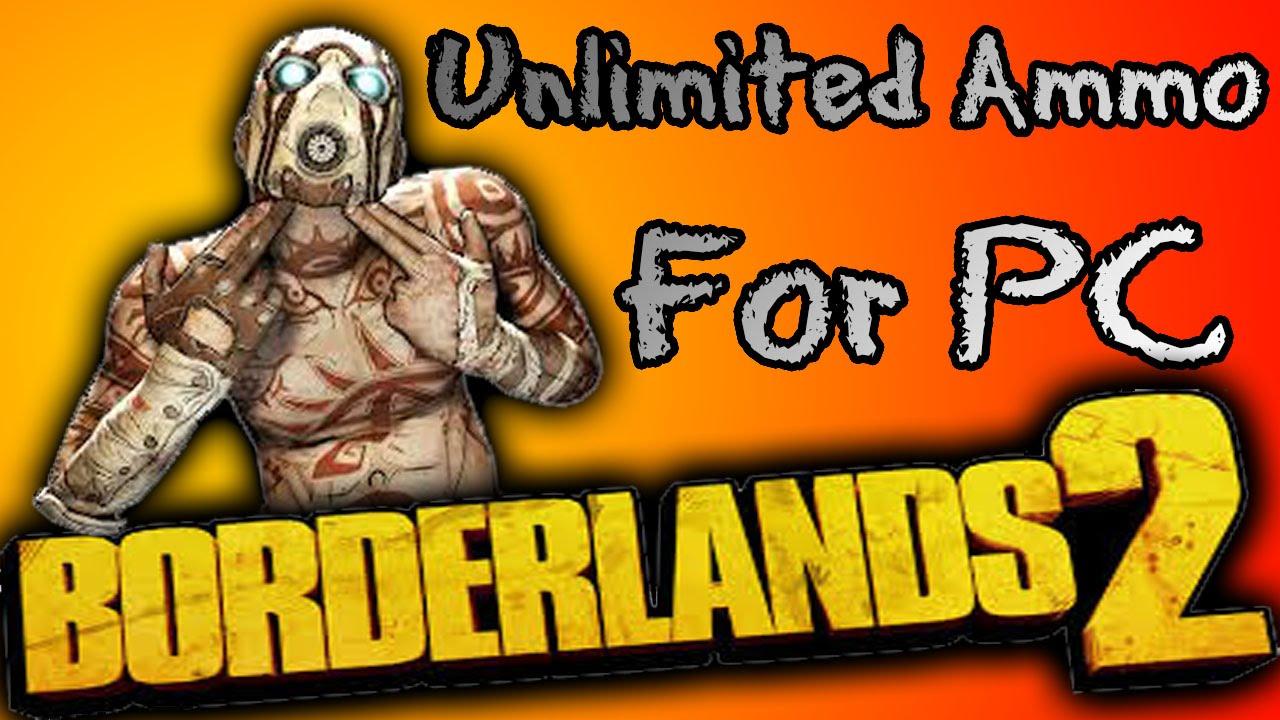 borderlands 2 infinite ammo gibbed