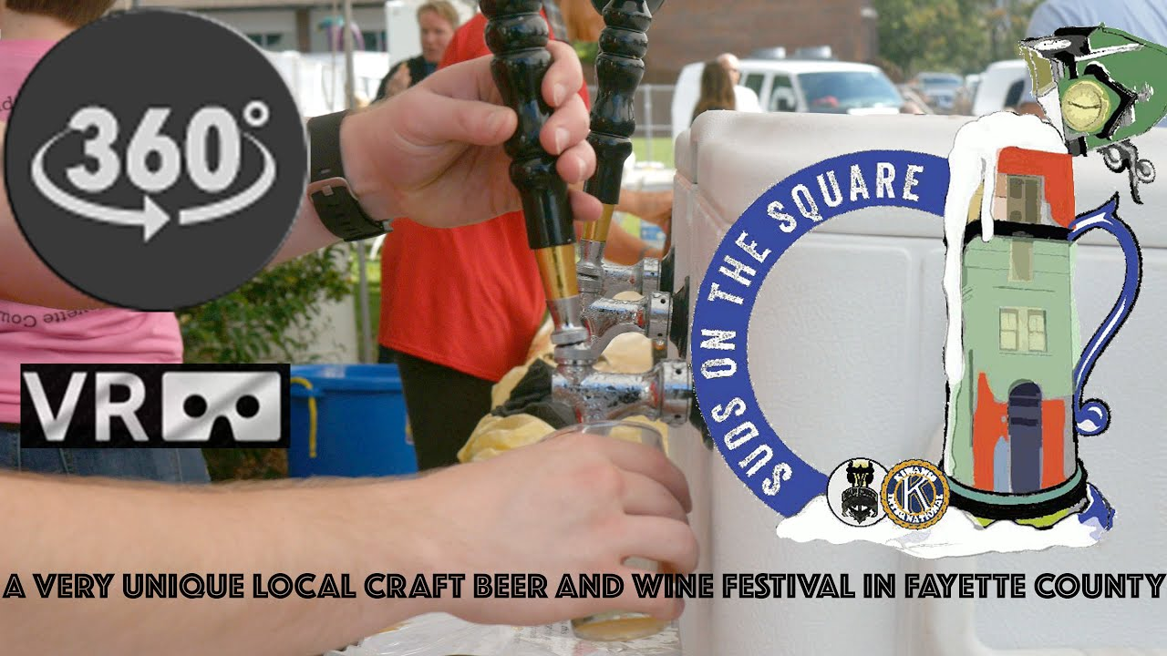 Beer Fest 360 : Suds on the Square Beer and Wine Festival