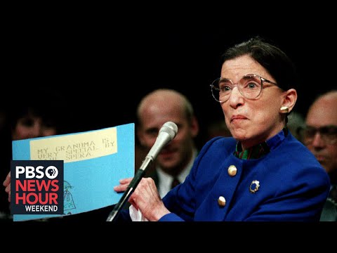 Justice Ginsberg leaves