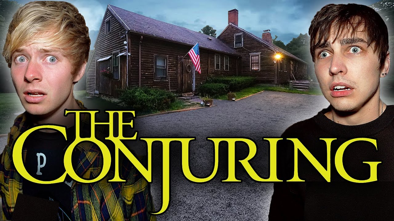 The Night We Talked To Demons. | REAL Conjuring House