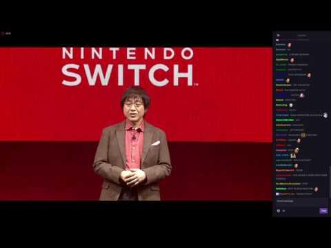 Nintendo Switch Presentation w/ Twitch Chat