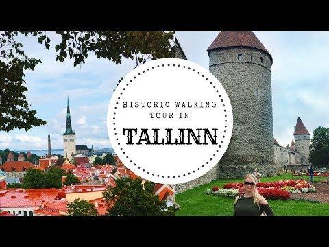 Walking Tour in Tallinn Estonia | Travel Guide Vlog 2018