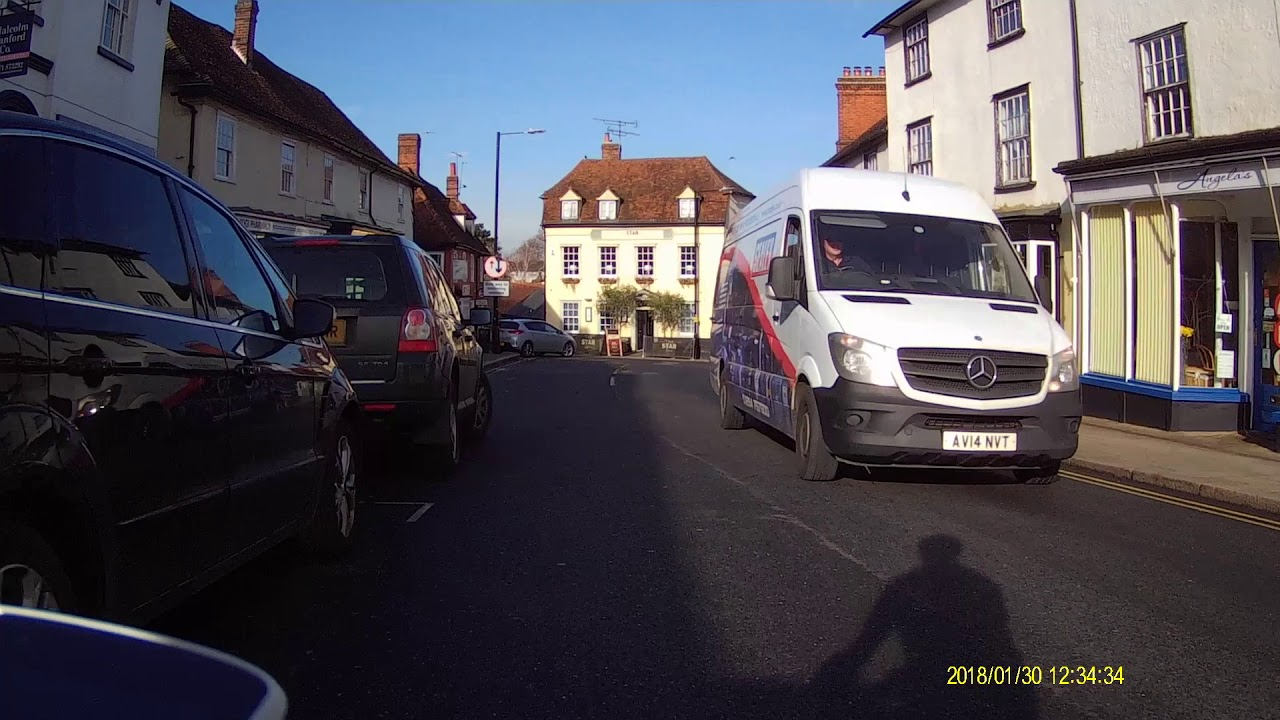 RUSH HOUR: Village takes revenge on inconsiderate holiday-maker