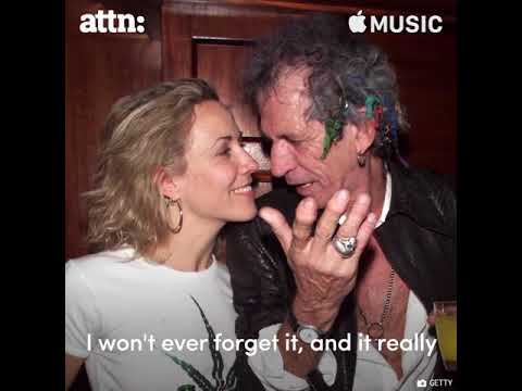 """""""Street Fighting Man"""" commented by Keith Richards & Sheryl Crow."""