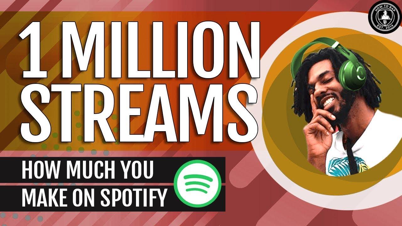 How Much Money You Make From A Million Streams On Spotify (ft  Kohrey Da  Savior)