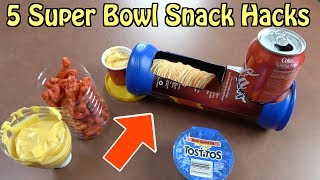 5 Super Bowl Snack Hacks For The Whole Family- FOOD LIFE HACKS
