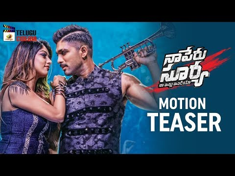 Naa Peru Surya Naa Illu India Movie MOTION TEASER | Allu Arjun | Anu Emmanuel | Mango Telugu Cinema