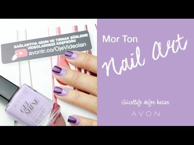 Mor Ton Nail Art | Ojemrujumrimelim
