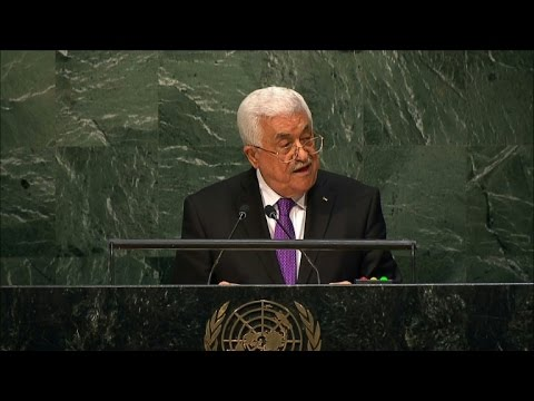 Abbas tells UN Palestine deserves 'full recognition'
