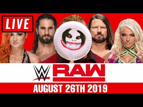WWE RAW Live Stream August 26th 2019 Watch Along - Full Show Live Reactions