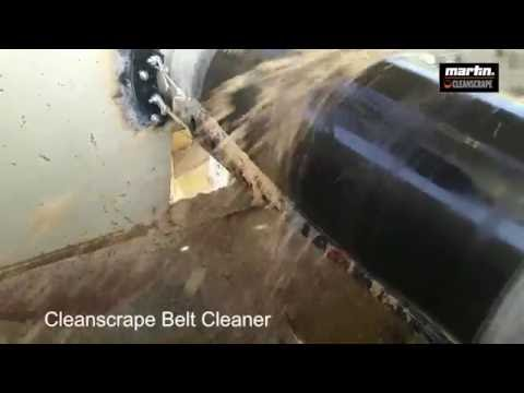 BELT CLEANING SOLUTION: Martin CleanScrape DEMO 1/2