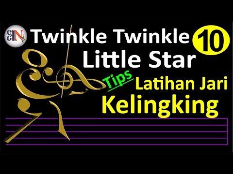 Belajar Biola Untuk Pemula (#10), Twinkle Twinkle Little Star
