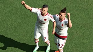 PES 2015 (PC) - AC Milan x FC Barcelona - Gameplay