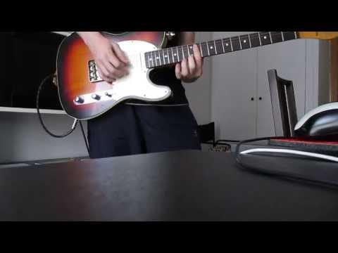 Fender Telecaster Japan 62 reissue 1986 - Zoom MultiStomp (PureBlues preset)