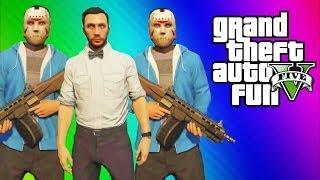 GTA 5 Online Funny Moments Gameplay - Multiple Delirious's, 1st Person Tunnel Driving (Multiplayer) thumbnail