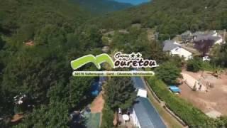 camping Le Mouretou en Cévennes vu  du ciel