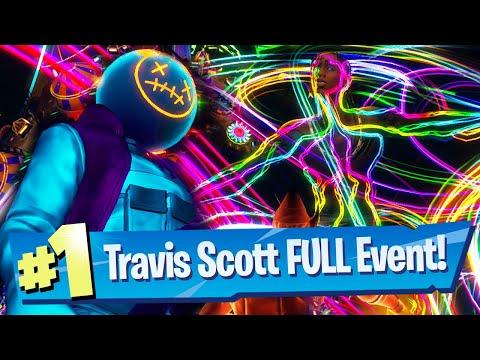 Travis Scott x Fortnite Astronomical FULL Event Gameplay