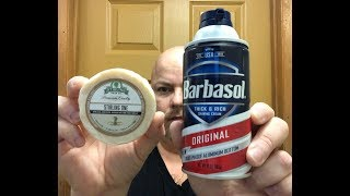 Traditional Shaving Soap vs Barbasol Foam