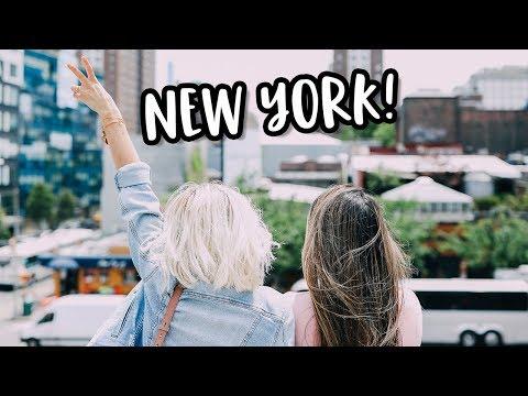 GIRLS TRIP TO NEW YORK + NEW GLASSES!