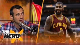 Kyrie Irving to the New York Knicks? Doug Gottlieb says it's the most likely option | THE HERD thumbnail