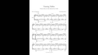 Turning Tables by Adele - Piano Accompaniment (Sheet Music)