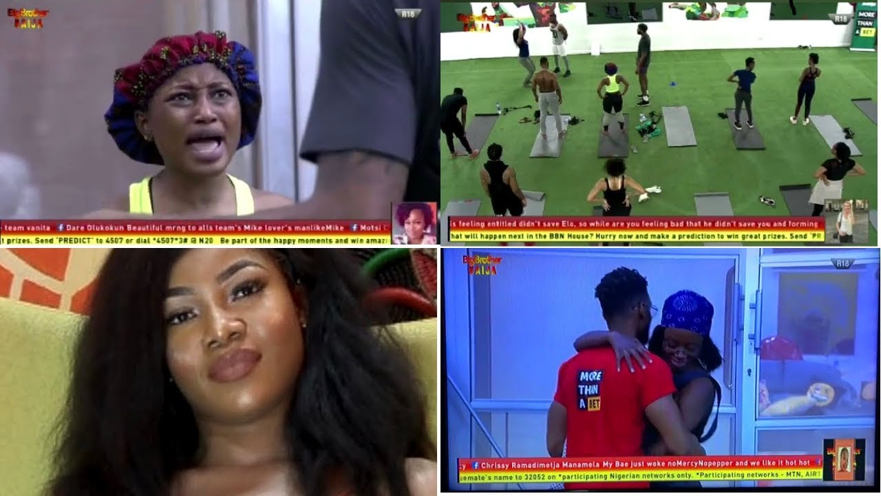 BBNaija 2019 : Tacha Campaigns for Seyi | Diane forgives Elo | Mike vs Tacha vs Esther