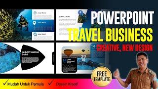 Gambar cover Gratis Download Template PPT Keren untuk presentasi Travel (Bagian 4)
