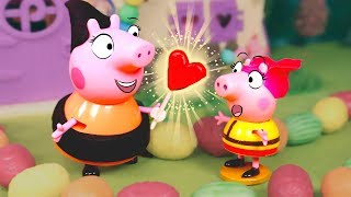 PEPPA PIG 🍭 Cuento infantil de Hansel y Gretel con Peppa y George
