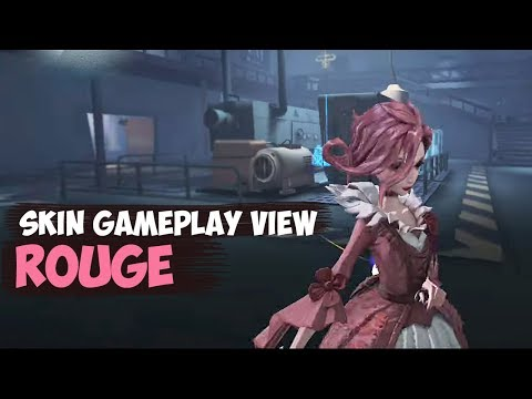 Rouge / Bloody Queen's B skin gameplay / IDENTITY V - YouTube