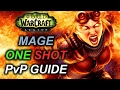 7 1 7 2 Mage PvP Guide ONE SHOT Macro Talents Rotation Legion 110 Fire mp3