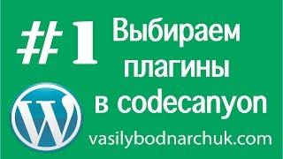[WP інструкція #1] Купуємо плагін в codecanyon