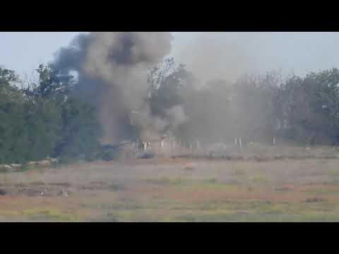 Ополченцы разгромили позиции ВСУ мощными ударами ракет ПТУРС