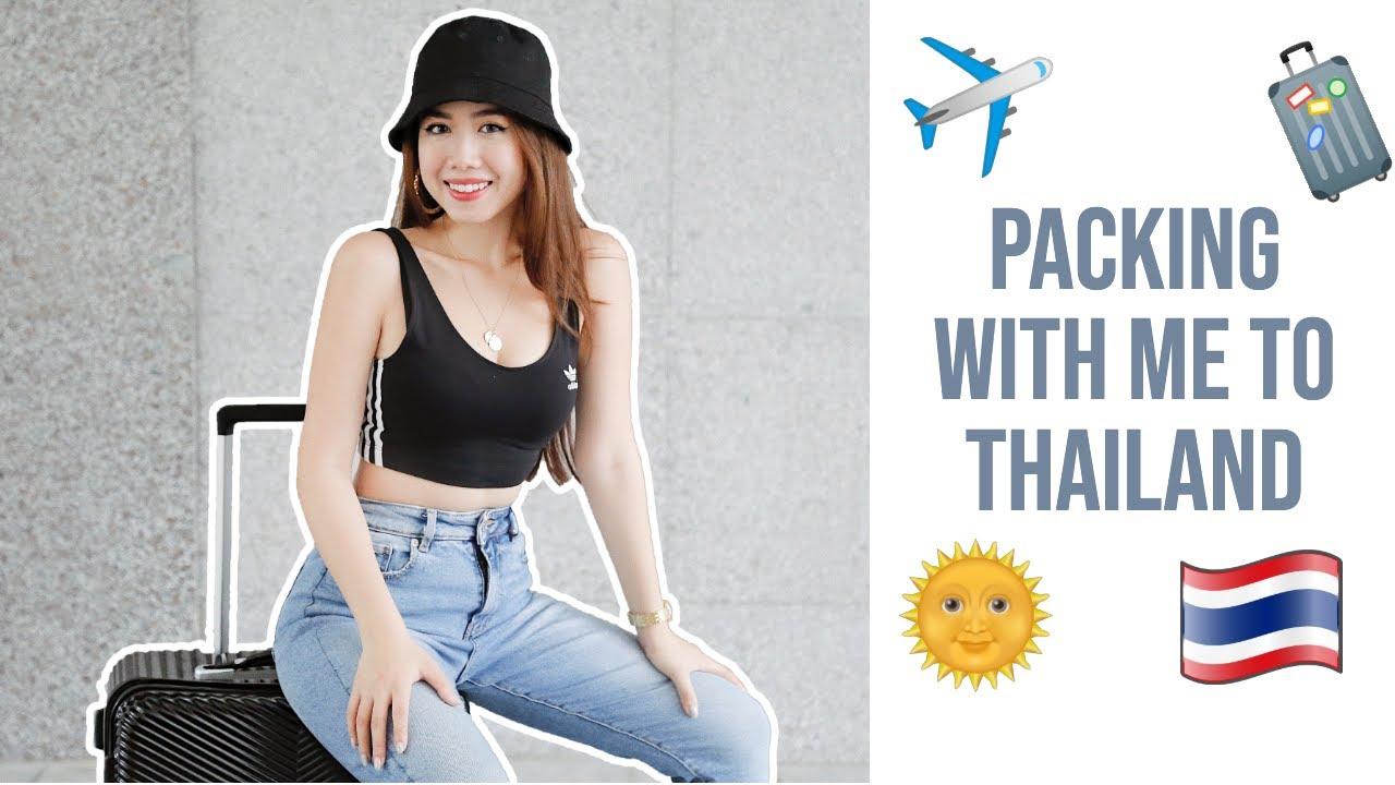 Pack vali cùng Mina đi Thái Lan + 4 tips xếp đồ siêu nhanh ♡ TRAVEL WITH ME | Mina Nguyen