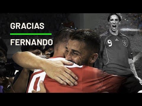 Despedida A Un Amigo. Gracias Fernando Torres By David Villa