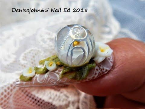 3 D Flowers --- Sculpting 4 D Flowers on a Bubble Rose --- Denisejohn10 10% Off Missu