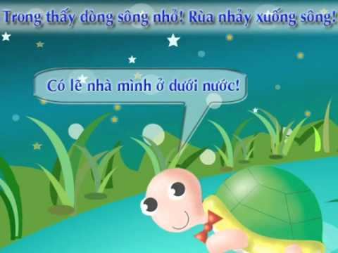 Rùa con tìm nhà  - Creat by Đinh Nhung