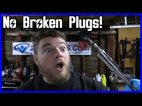 How to Replace Spark Plugs Ford F150 5.4L 2004-2008 | No Broken Plugs!