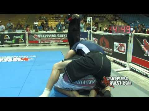 SUB! 2011 Grapplers Quest U.S. Nationals: Michael Ames vs Willie Leonard