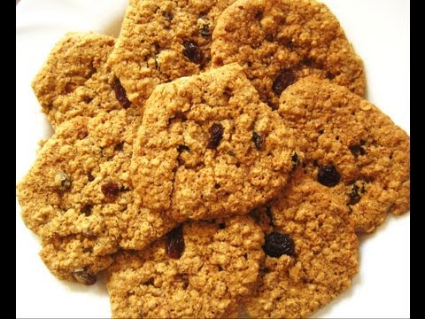 Oatmeal Raisin Cookies (Eggless) - Eggless Baking Recipes