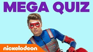 Can You Ace the Henry Danger Superfan Megaquiz? 💥 | #KnowYourNick